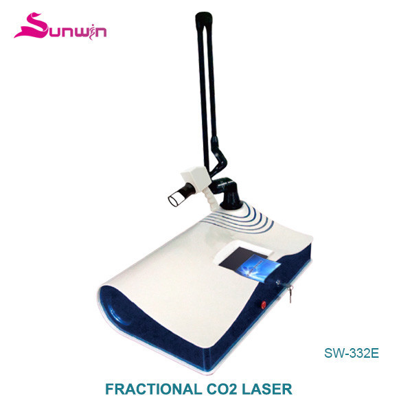 SW-332E carbon dioxide fractional laser deep wrinkles reduce clean vagina beautify vagina ance treatment co2 fractional laser