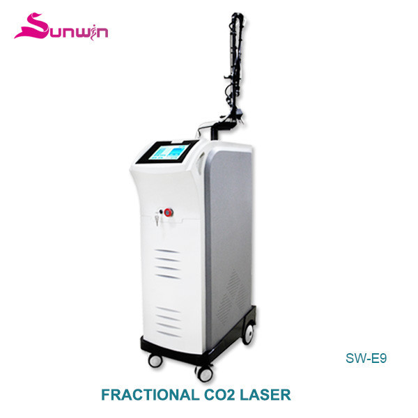 SW-E9 narrow vagina fractional co2 laser skin resurface vulva treatment vaginal tightener skin renewing co2 fractional laser