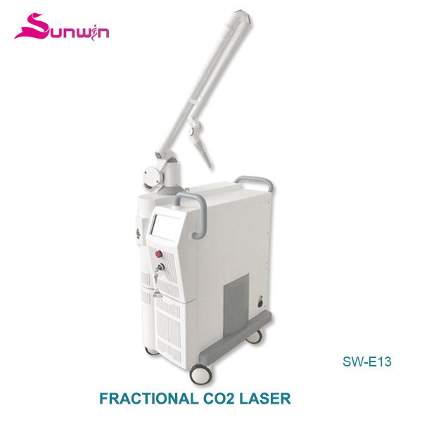 SW-E13 fractional medical laser vaginal muscles tightening improve skin tone facial cleaning rf fractional co2 laser