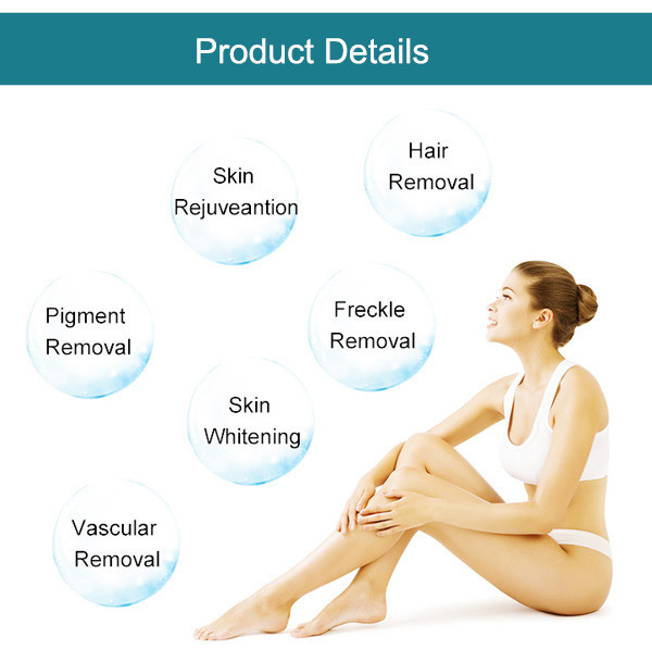SW-139E hair removal system at home permanent hair removal shr Super elight IPL beauty salon equipment