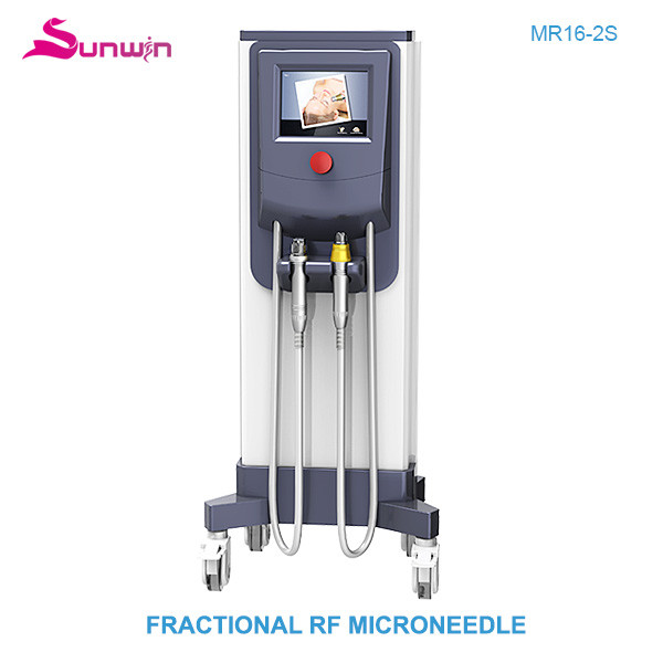 MR16-2S Fractional RF face lifting thermage skin rejuvenation micro needle scar removal face lifting beauty equipment