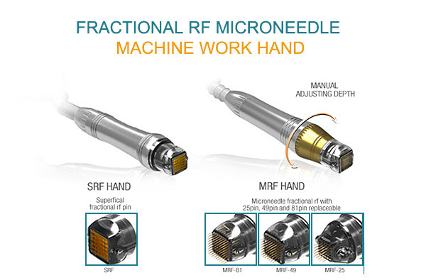 MR16-2S Fractional RF face lifting thermoskin rejuvenation micro needle scar removal face lifting beauty equipment