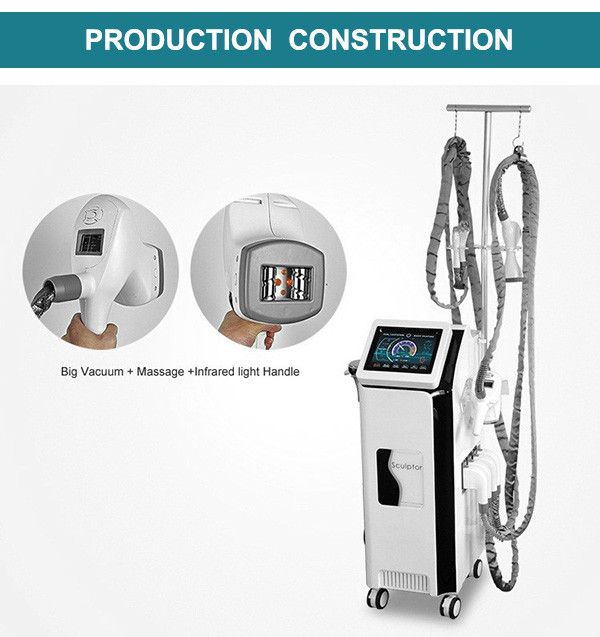 SW-N8 Velashape V3 body slimming vacuum roller suction RF cavitation LED body slimming fat removal machine