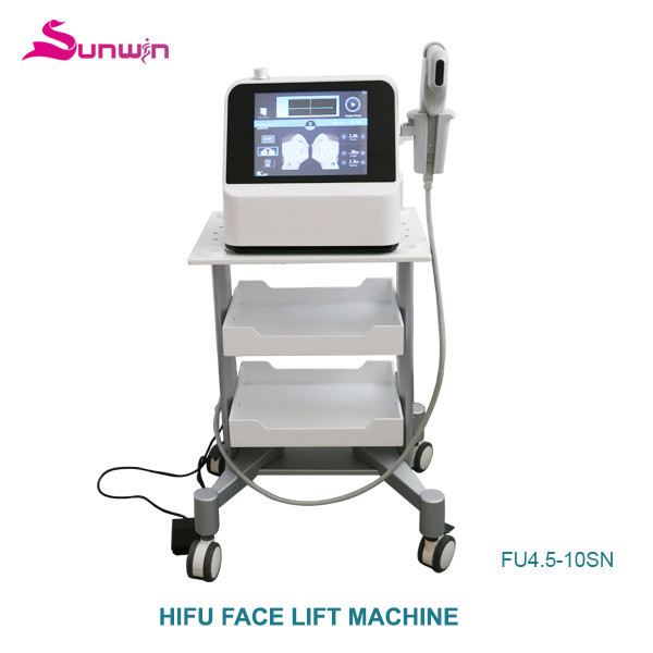 FU4.5-10SN HIFU system shape slim body sculpture ultrasound skin tighten skin Anti-aging beauty equipment