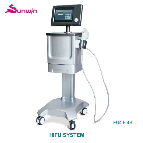FU4.5-4S HIFU device 1.5/3.0/4.5/8.0/13.0mm ultra age hifu skin repair face anti-wrinkle rf face lift facial skin care beauty machine