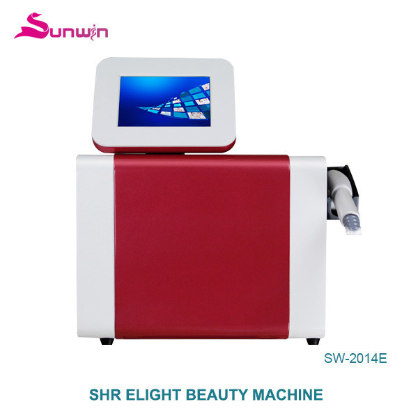 SW-2014E hair removal beauty machine deeply skin clean therapy acne elight opt shr ipl skin care beauty device