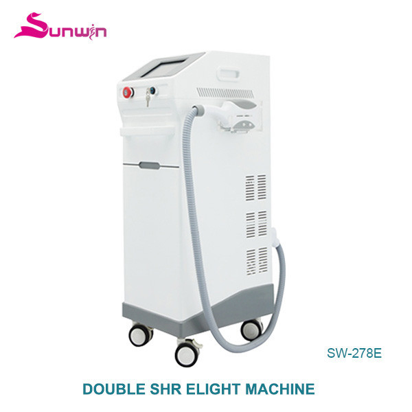 SW-278E IPL unwanted hair removal equipment fast hair remover skin whitening ipl opt shr elight rf nd yag laser hair removal cosmetic machine