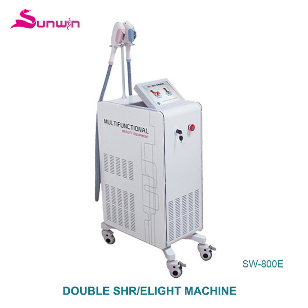 SW-800E hair removal system at home permanent hair removal shr Super elight IPL beauty salon equipment