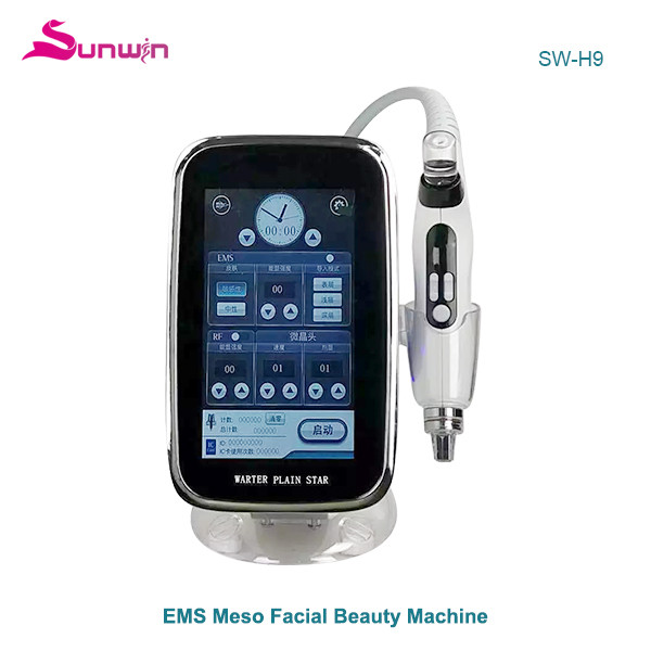 SW-H9 EMS mesotherapy Meso RF facial beauty machine