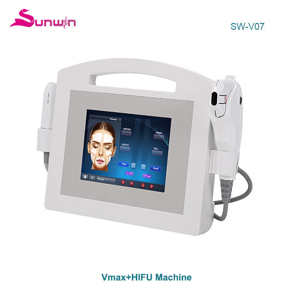 SW-V07 HIifu vmax face lifting and skin tightening skin Anti-aging CE approved machine radar system clicnic salon use