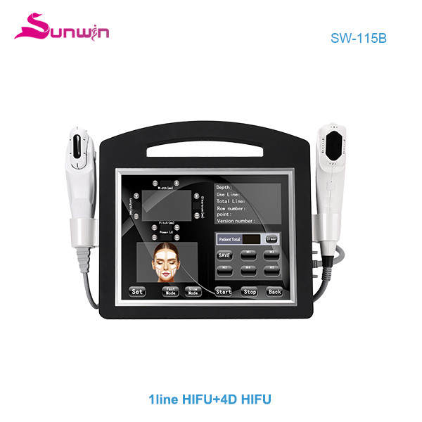SW-115B Non invasive 4D HIFU one line HIFU smas face and body lift wrinkle removal device CE approved