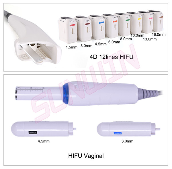 SW-119B 4D Hifu vaginal tightening face ift and body slimming wrinkle removal machine