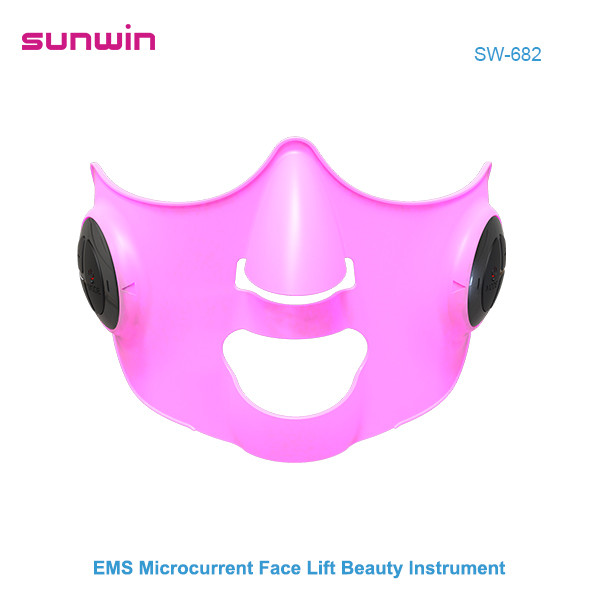 SW-682  EMS microcurrent face lifting mask anti aging beauty instrument