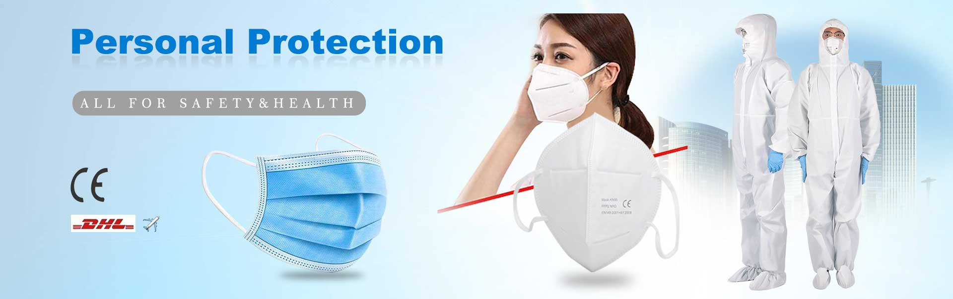 Personal protective face mask clothing