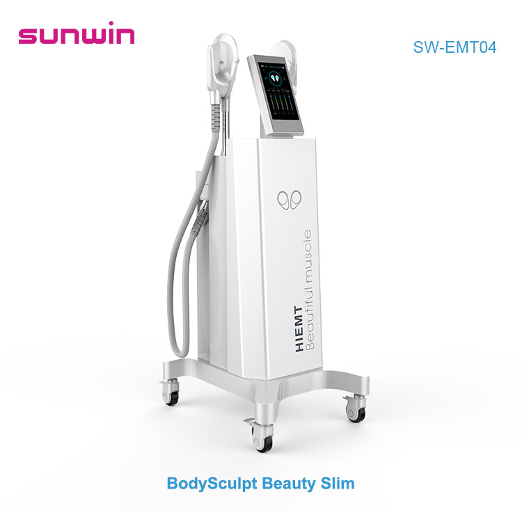 SW-EMT04 Teslasculpt HI-EMT technology Build Muscle  Burn Fat Emslim Non-invasive Weight loss Slimming Body Shaping Beauty Equipment