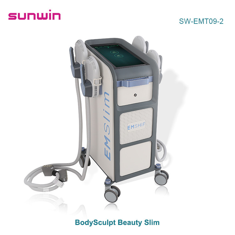 SW-EMT09-2  Emslim Neo fat burning and muscle sculpting butt lifting HIEMT machine with 4 handles